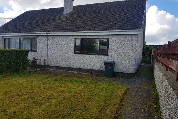Thumbnail Flat to rent in Star, Gaerwen