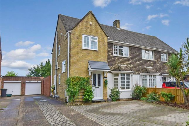 Thumbnail Semi-detached house for sale in The Bounds, Aylesford, Kent