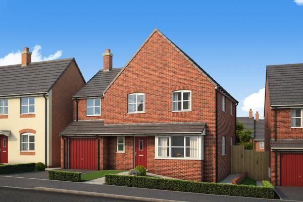 "Thumbnail Property for sale in ""The Goldcrest At Malvern View, Bartestree"" at Orchard Vale, Bartestree, Hereford"
