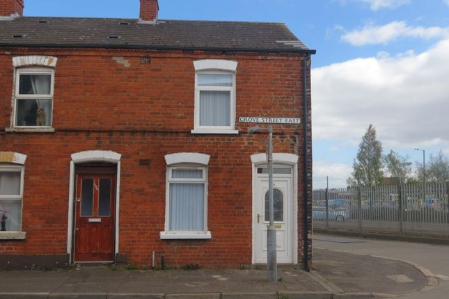 Thumbnail Terraced house to rent in Grove Street East, Belfast