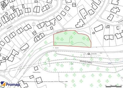 Thumbnail Land for sale in Land Adjacent King Charles Road, Pentwyn-Mawr, Pontllanfraith, Caerphilly