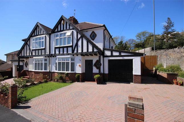 Thumbnail Semi-detached house for sale in Hillsdon Road, Westbury-On-Trym, Bristol