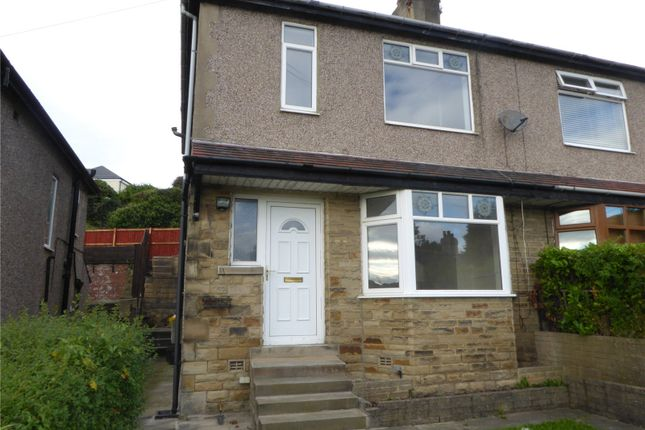 Thumbnail Semi-detached house to rent in Kirk Lane, Hipperholme, Halifax, West Yorkshire