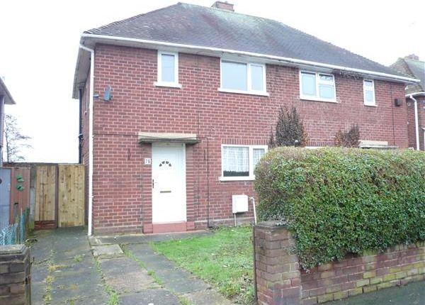 Thumbnail Semi-detached house for sale in Colman Avenue, Wednesfield, Wednesfield