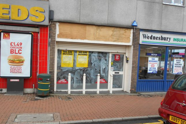 Thumbnail Retail premises to let in Upper High Street, Wednesbury
