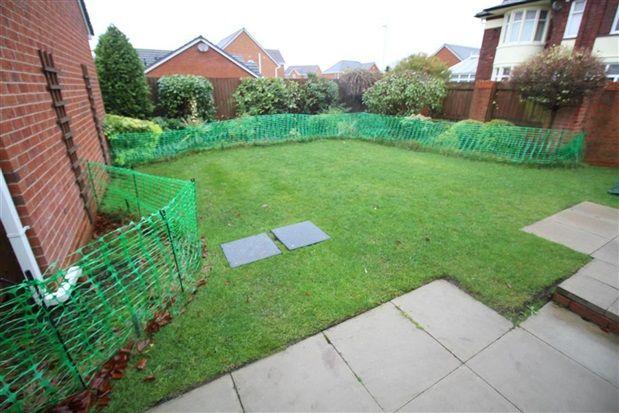 Garden of Croston Road, Farington Moss, Leyland PR26