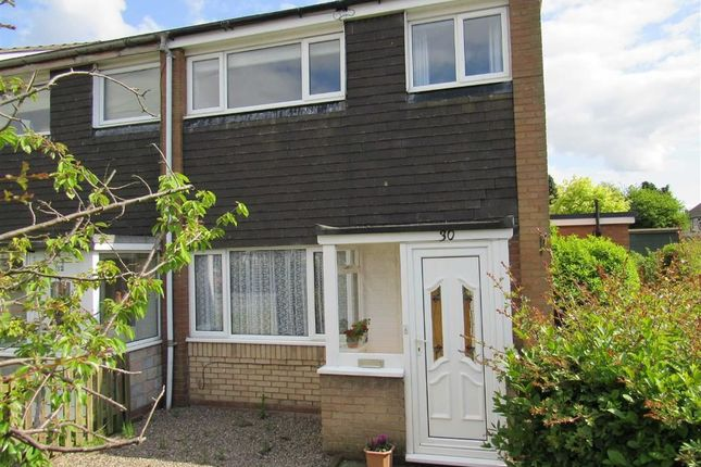Thumbnail End terrace house to rent in Hazel Grove, Oswestry