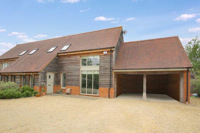 Thumbnail Semi-detached house to rent in The Long Barn, Back Lane, Lower Village, Blunsdon