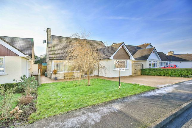 Thumbnail Detached bungalow for sale in Dunster Drive, Sully, Penarth