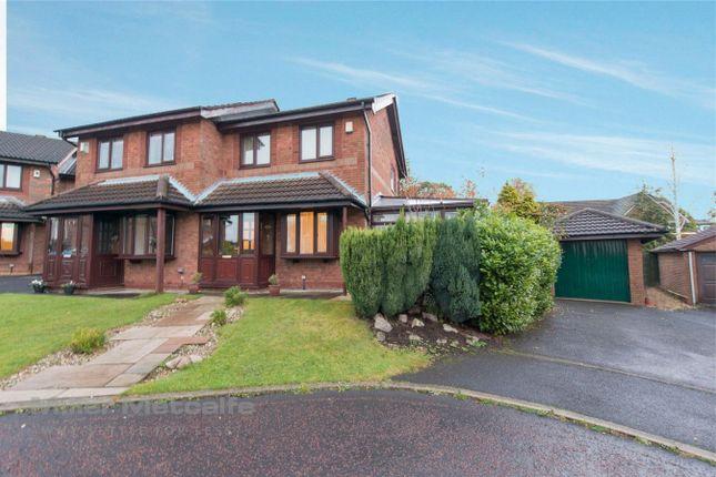 Thumbnail Semi-detached house for sale in Eller Brook Close, Heath Charnock, Chorley, Lancashire