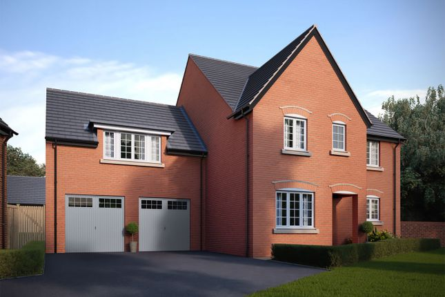 Thumbnail Detached house for sale in Bedford Road, Great Barford, Bedford