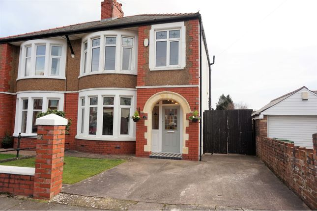 Thumbnail Semi-detached house for sale in St. Albans Avenue, Heath, Cardiff