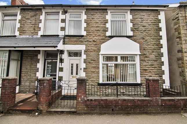 Thumbnail Terraced house for sale in Usk Road, Bargoed