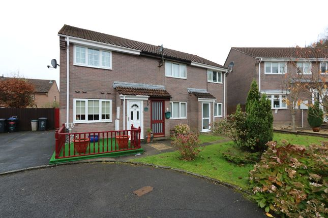 Thumbnail Terraced house to rent in Chestnut Close, Rassau, Ebbw Vale