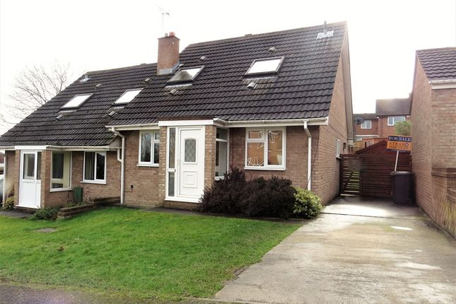 Thumbnail Semi-detached house for sale in Wellspring Close, Wingerworth, Chesterfield