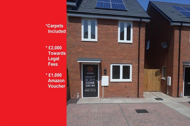 2 bed semi-detached house for sale in Stanbury Place, Cleobury Mortimer, Kidderminster DY14