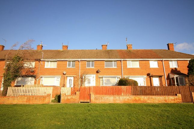 Thumbnail Terraced house to rent in Castle Close, Morpeth