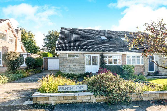 Thumbnail Semi-detached bungalow for sale in Belmont Crescent, Low Moor, Bradford