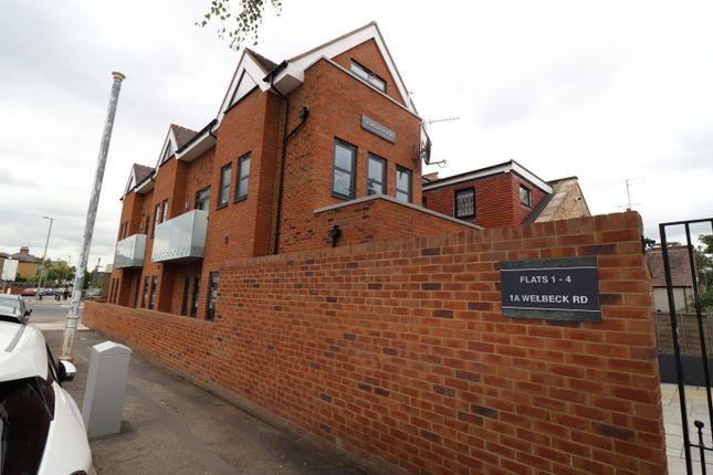 2 bed flat to rent in Welbeck Road, New Barnet, Barnet EN4