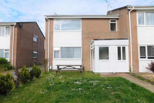 Thumbnail Flat for sale in Border Road, Upton, Poole, Dorset