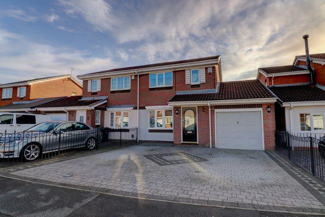 3 bed semi-detached house for sale in Kirkwall Close, Sunderland SR5