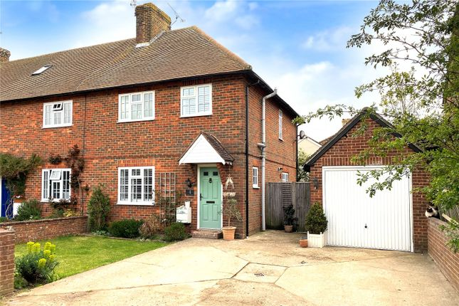 Thumbnail End terrace house for sale in High Street, Angmering, West Sussex