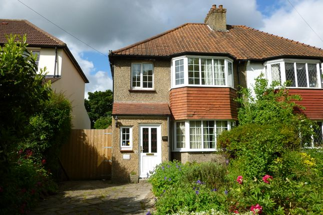 Thumbnail Semi-detached house to rent in Riddlesdown Road, Purley