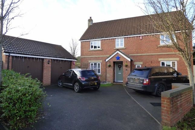 Thumbnail Detached house for sale in Shadow Walk, Elborough, Weston-Super-Mare