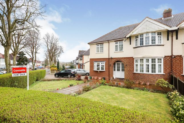Thumbnail Semi-detached house for sale in Ward Road, Goldthorn Park, Wolverhampton