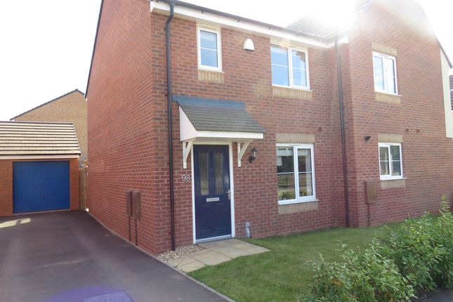 Thumbnail 3 bed semi-detached house for sale in Stone Drive, Shifnal
