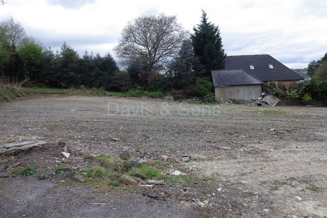 Thumbnail Land for sale in Plot 2 Newbridge Road, Pontllanfraith, Blackwood, Caerphilly.