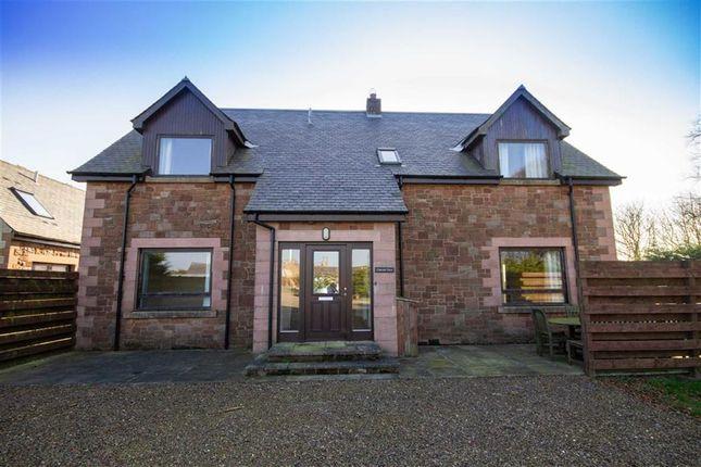 Thumbnail Detached house for sale in Edington Hill, Chirnside, Berwickshire