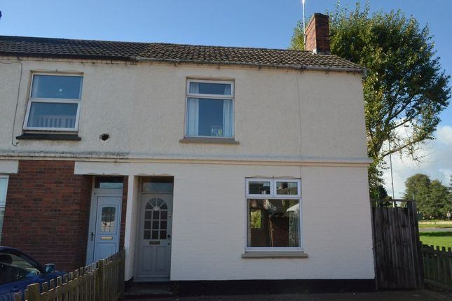 Thumbnail End terrace house to rent in The Grove, Corby, Northamptonshire