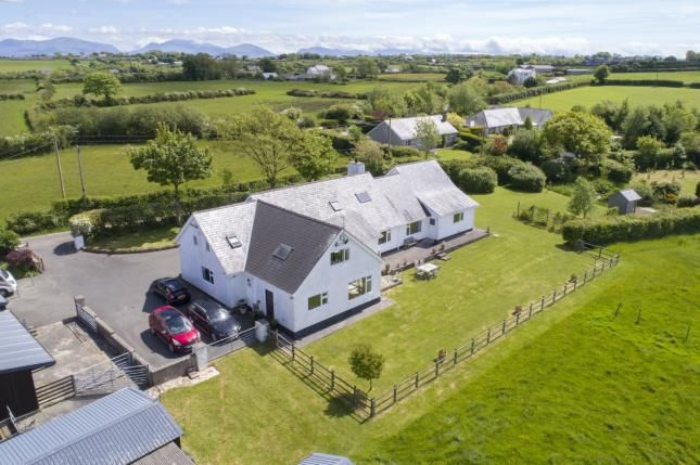 Thumbnail Detached house for sale in Rhostrehwfa, Llangefni, Anglesey, North Wales