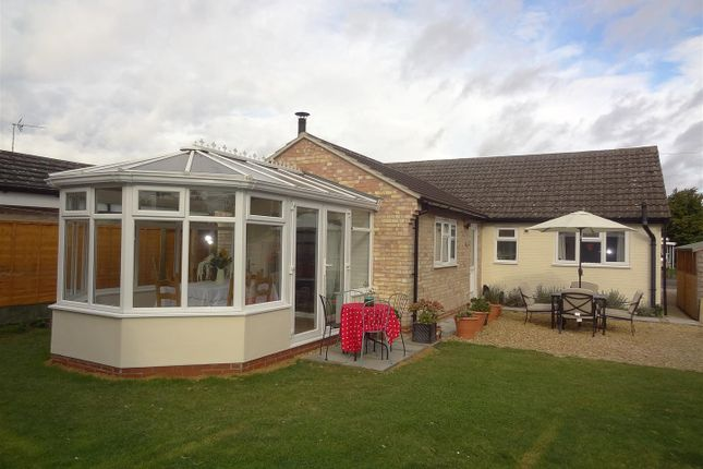 Thumbnail Detached bungalow for sale in Churchill Way, Heckington, Sleaford