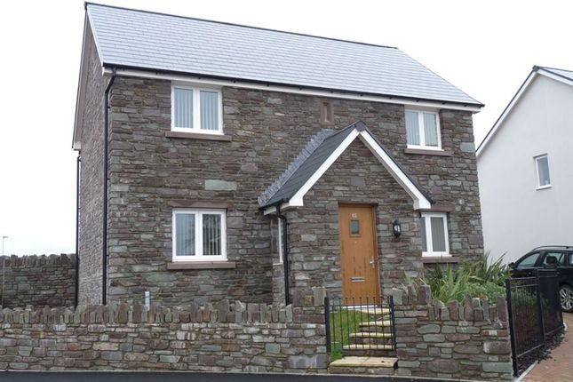 Thumbnail Detached house to rent in St. Davids Park, Llanfaes, Brecon