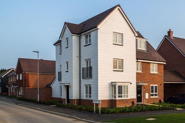 Thumbnail Town house to rent in Bridger Way, Maidstone