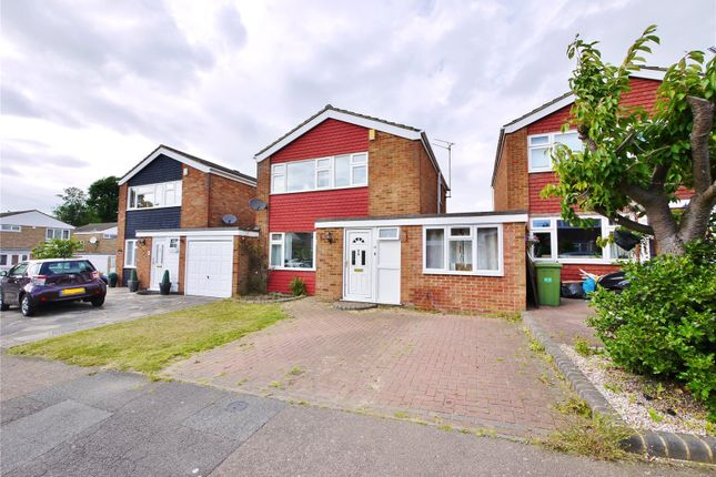 Thumbnail Detached house for sale in Hamilton Crescent, Warley, Brentwood, Essex