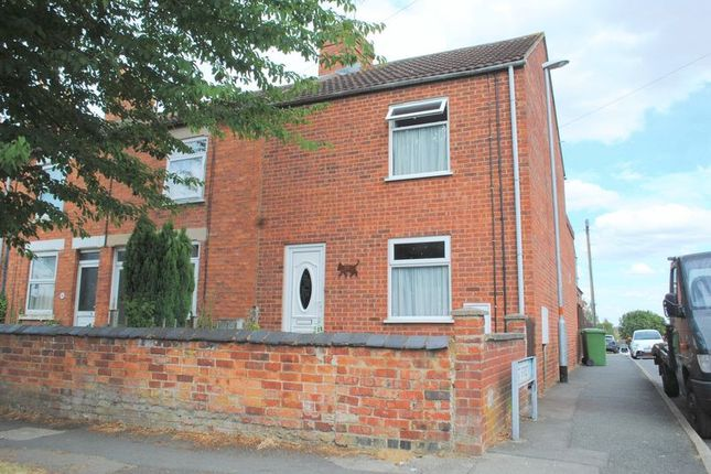 Thumbnail End terrace house for sale in Farndish Road, Irchester, Wellingborough