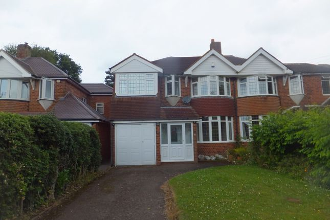 Thumbnail Semi-detached house for sale in Worcester Lane, Four Oaks, Sutton Coldfield
