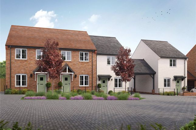 Thumbnail End terrace house to rent in Buttercup Road, Bishops Waltham, Hampshire