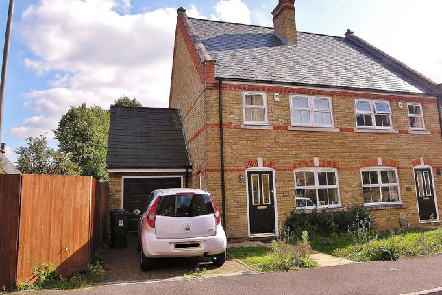 3 bed semi-detached house to rent in Brushfield Way, Knaphill, Woking