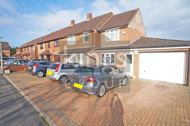 Thumbnail Semi-detached house for sale in Thaxted Way, Waltham Abbey
