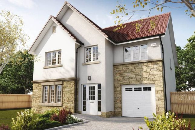 "Thumbnail Detached house for sale in ""Crichton"" at Penicuik Road, Roslin"