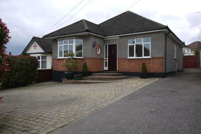 Thumbnail Detached bungalow to rent in Tolmers Road, Cuffley, Potters Bar