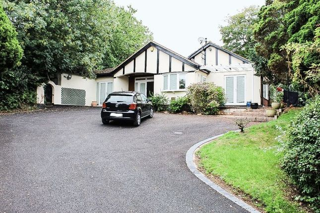 Thumbnail Detached bungalow for sale in Church Road, Stonnall, Walsall
