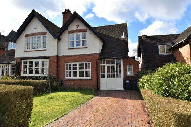 Thumbnail Semi-detached house for sale in Woodlands Park Road, Bournville, Birmingham