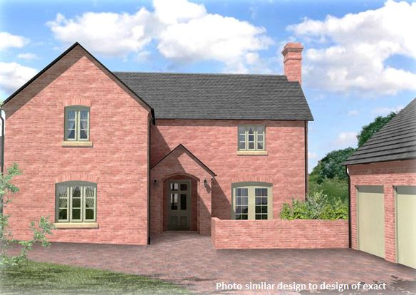 Thumbnail Detached house for sale in 12 William Ball Drive, Horsehay, Telford, Shropshire