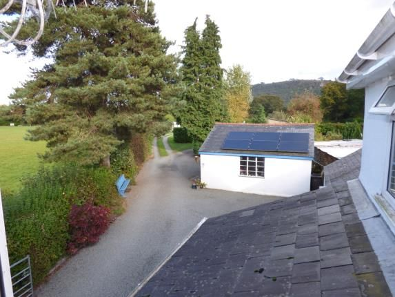 Front/Side Views of Tal Y Bont, Conwy, North Wales LL32