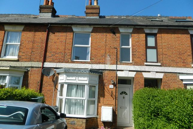 Thumbnail Terraced house to rent in Southend Road, Basingstoke